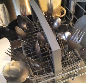 Посудомоечная машина не отмывает посуду